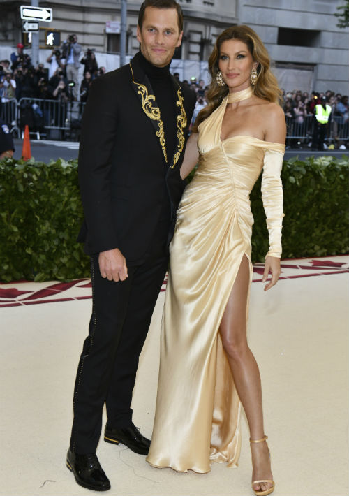 Tom Brady y Gisele Bundchen (AP)
