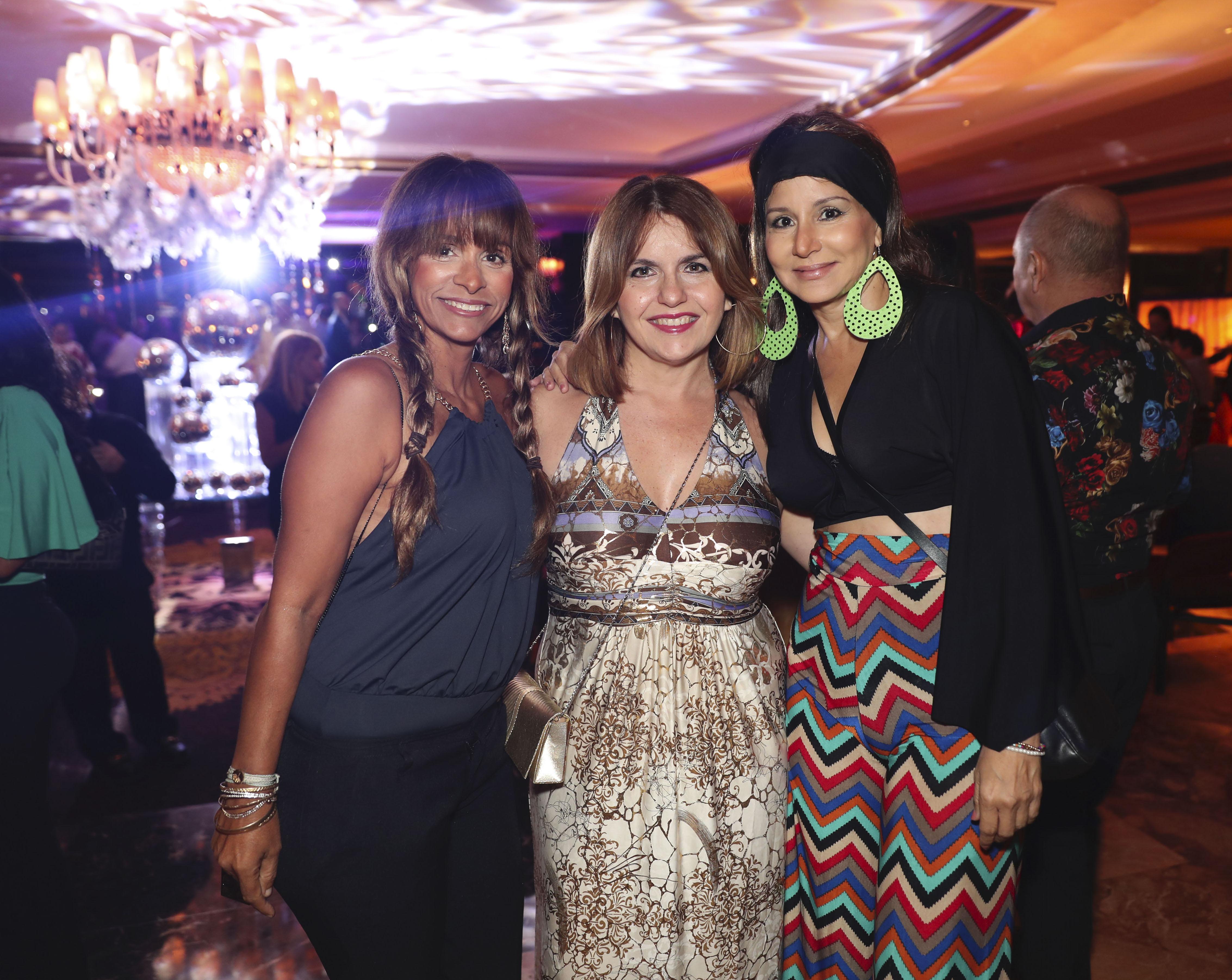 Gisselle Sáez, Diana Cordero y Silvia Torres. (Suministrada)