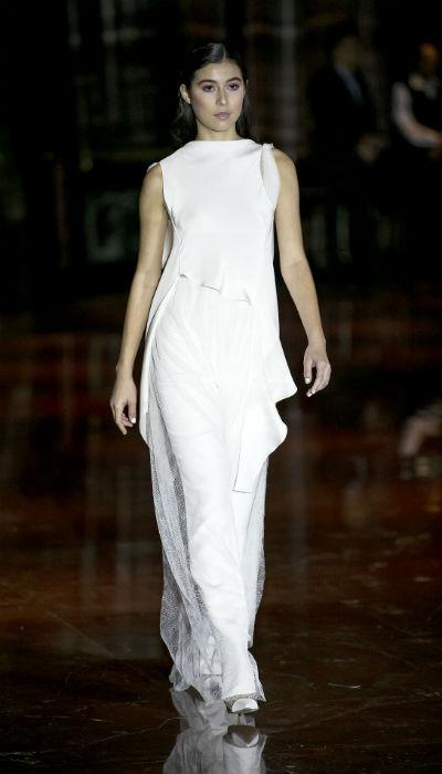 El diseñador se dio a la tarea de crear prendas de vestir de líneas sencillas y en tonalidades claras, que pueden llevarse solas o combinarse entre sí. (Xavier García / Especial GFRMedia)