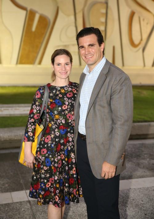 Caroline McConney y Richard Carrión. (José Rafael Pérez Centeno)