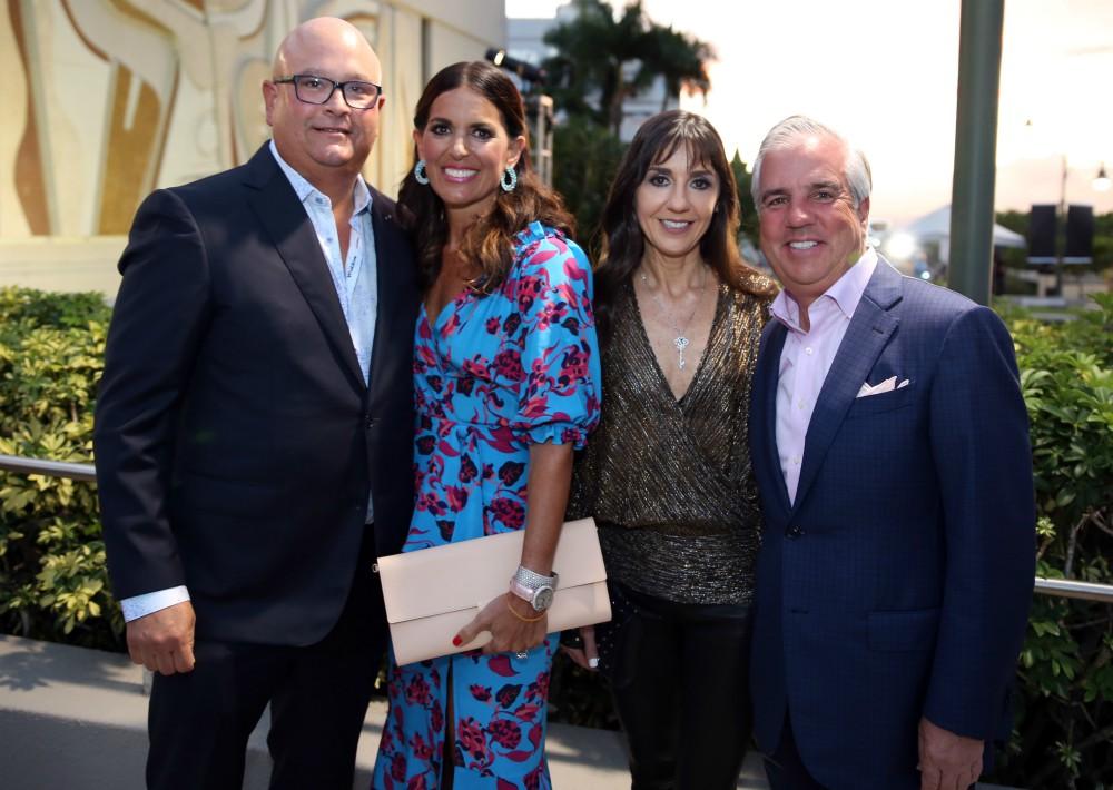 Carlos López Lai, Maria Esteve, Lisa Baldwin y Frank Jules. (José Rafael Pérez Centeno)