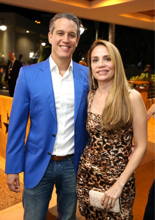 Pablo Hymovitz y Alenka Sánchez. (José Rafael Pérez Centeno)