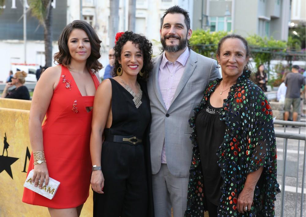 Vanessa Nadal, Maria Matijasevic, Josia Egan y Patricia Nadal. (José Rafael Pérez Centeno)
