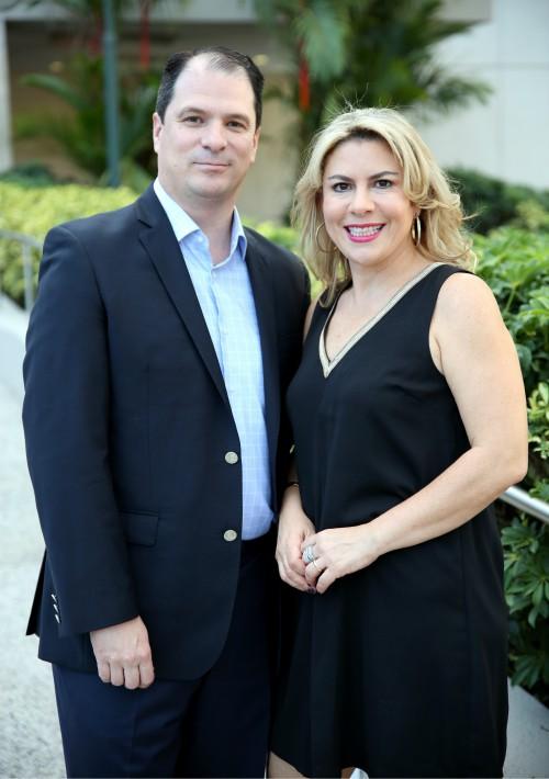 Enrique y Fernanda Ortiz de Montellano. (José Rafael Pérez Centeno)