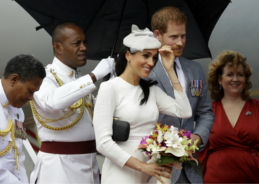 Después de siete días en Australia, los duques de Sussex cerraron esa etapa. (Foto: AP)