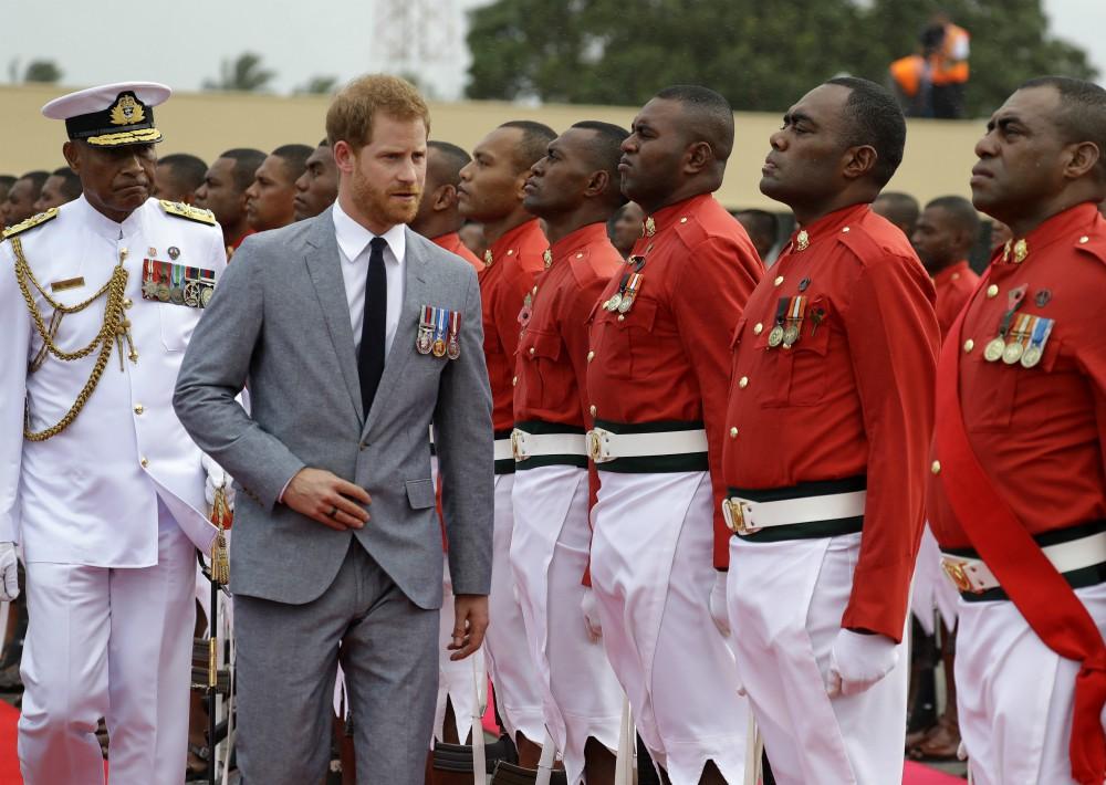 Harry y Meghan van a dedicar cuatro días a visitar la República de Fiji y el Reino de Tonga. (Foto: AP)