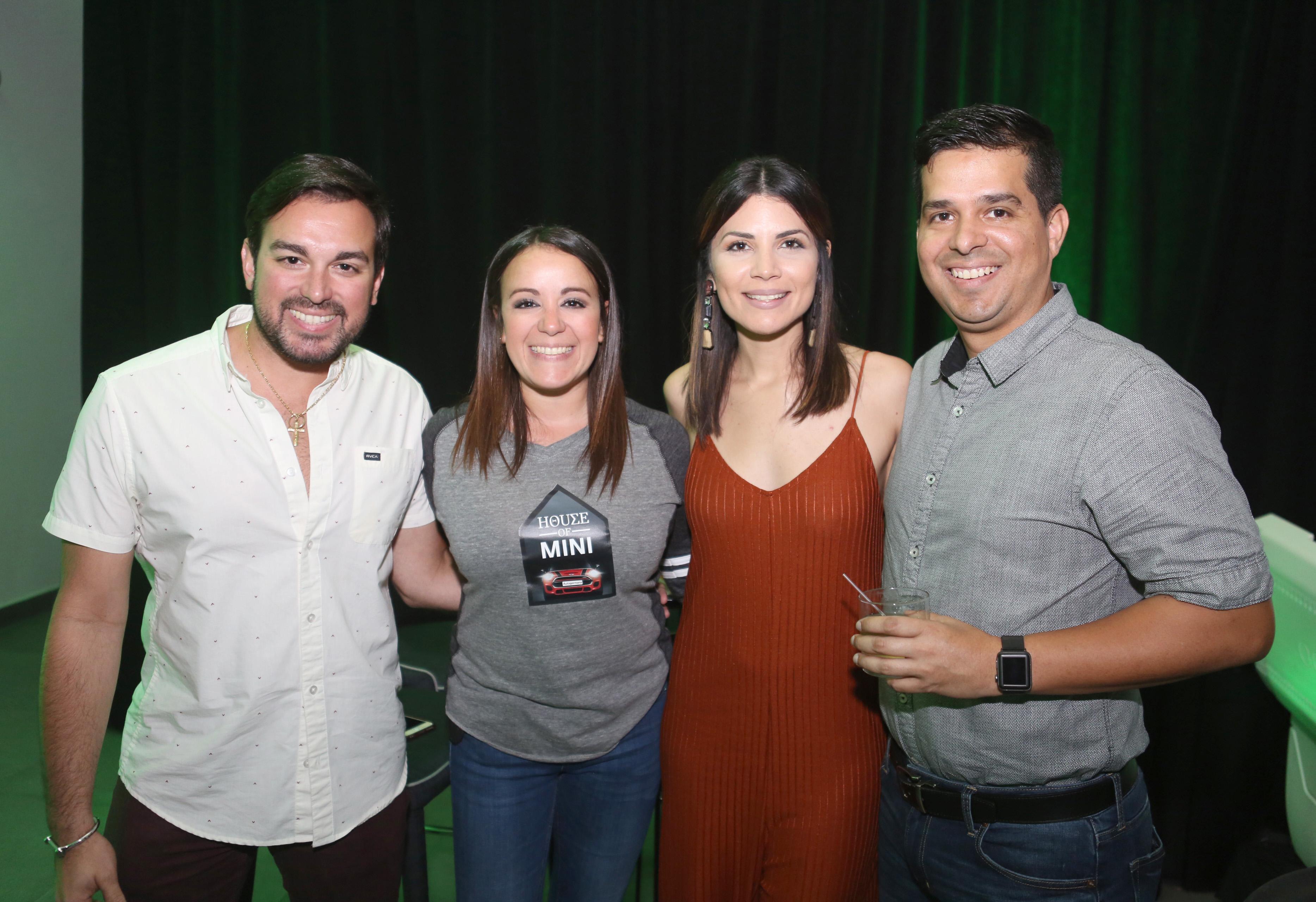 Sergio Ruiz, Giana Ruiz, Francheska Mangual y Alejandro Acevedo. Foto José R. Pérez Centeno.