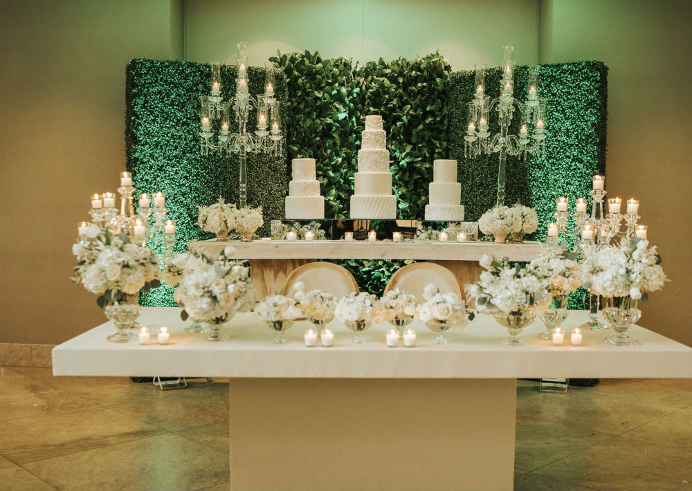 Bizcocho: Gabriel Díaz Cake Designer y decoración: Omy Torres Luciano. (Suministrada)