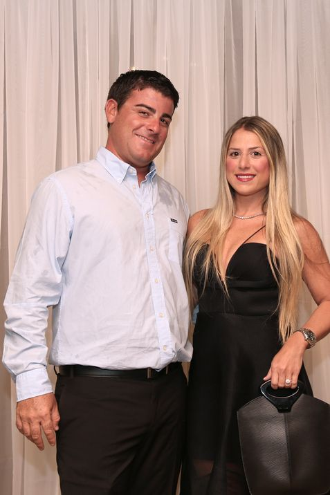 Alex Oben y Camelia Ferrer.
