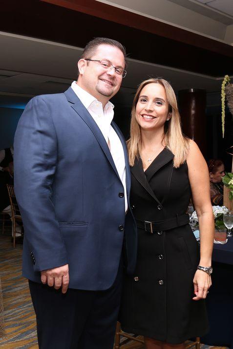 Adrián Méndez y María Godreau.