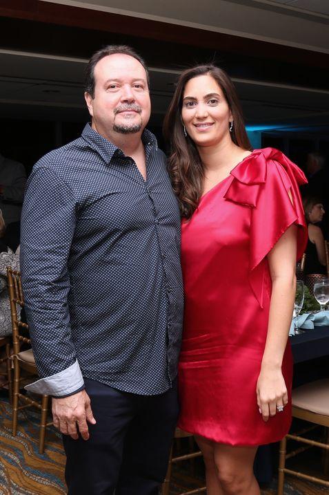 Luis Carreras y Camille González.