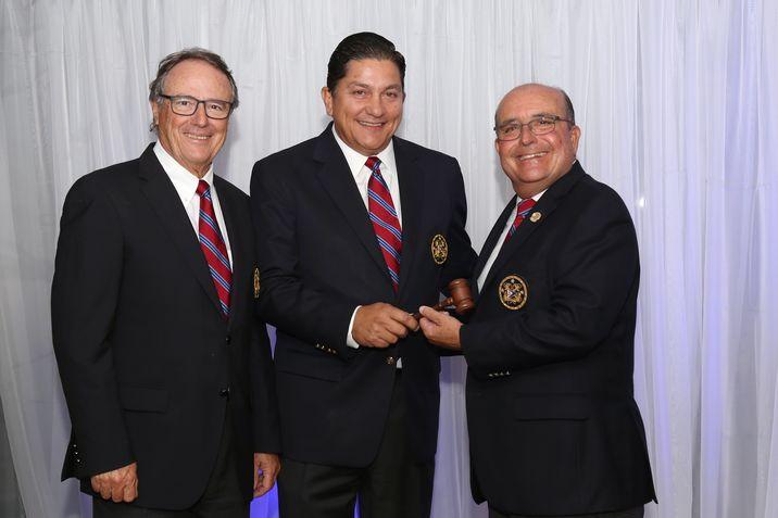 José Teixidor, Joe Vizcarrondo y Pipo Gual Rexach.