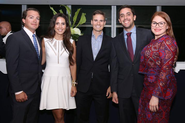 Joey Vizcarrondo, Camila Sagardía, Marco Teixidor, Alberto Gual y Graciela Rivera.