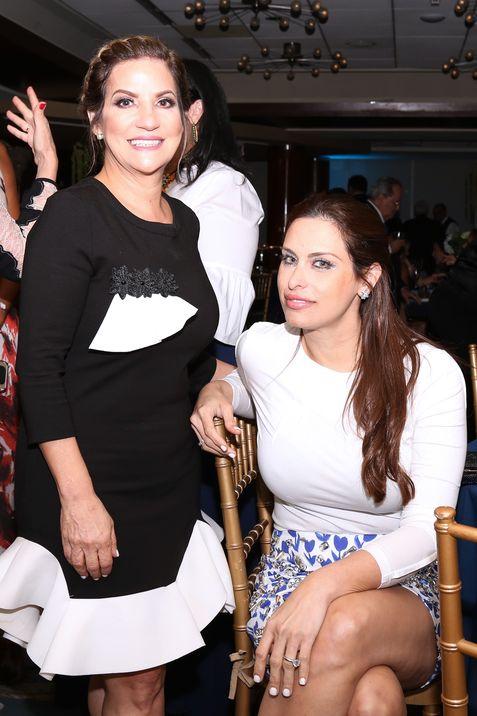 Nilsa Colón y Marieli Camilo.