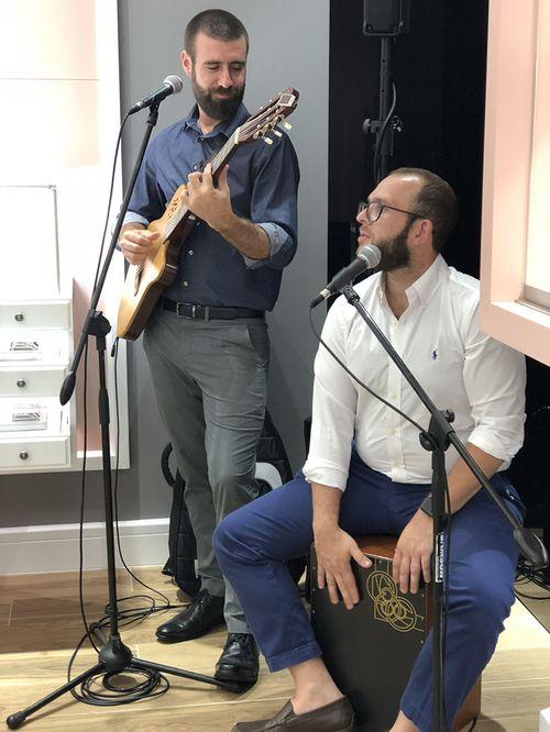 Grupo del cantautor puertorriqueño Ale Croatto. (Foto: Suministrada)