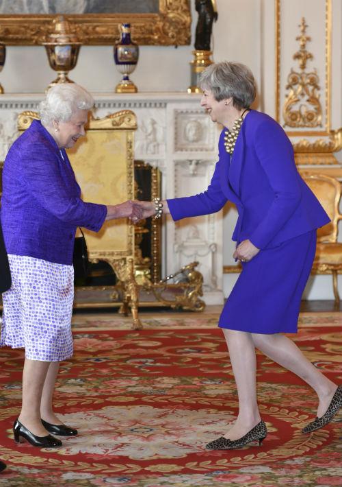 Al evento de gala en el Palacio de Buckingham asistieron importantes figuras como la primera ministra Theresa May. (AP)