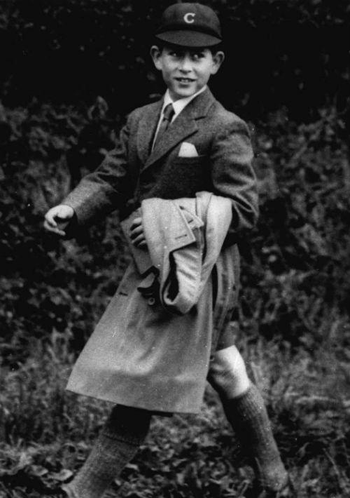 (Sin año). El príncipe de Gales durante su infancia. (AP)