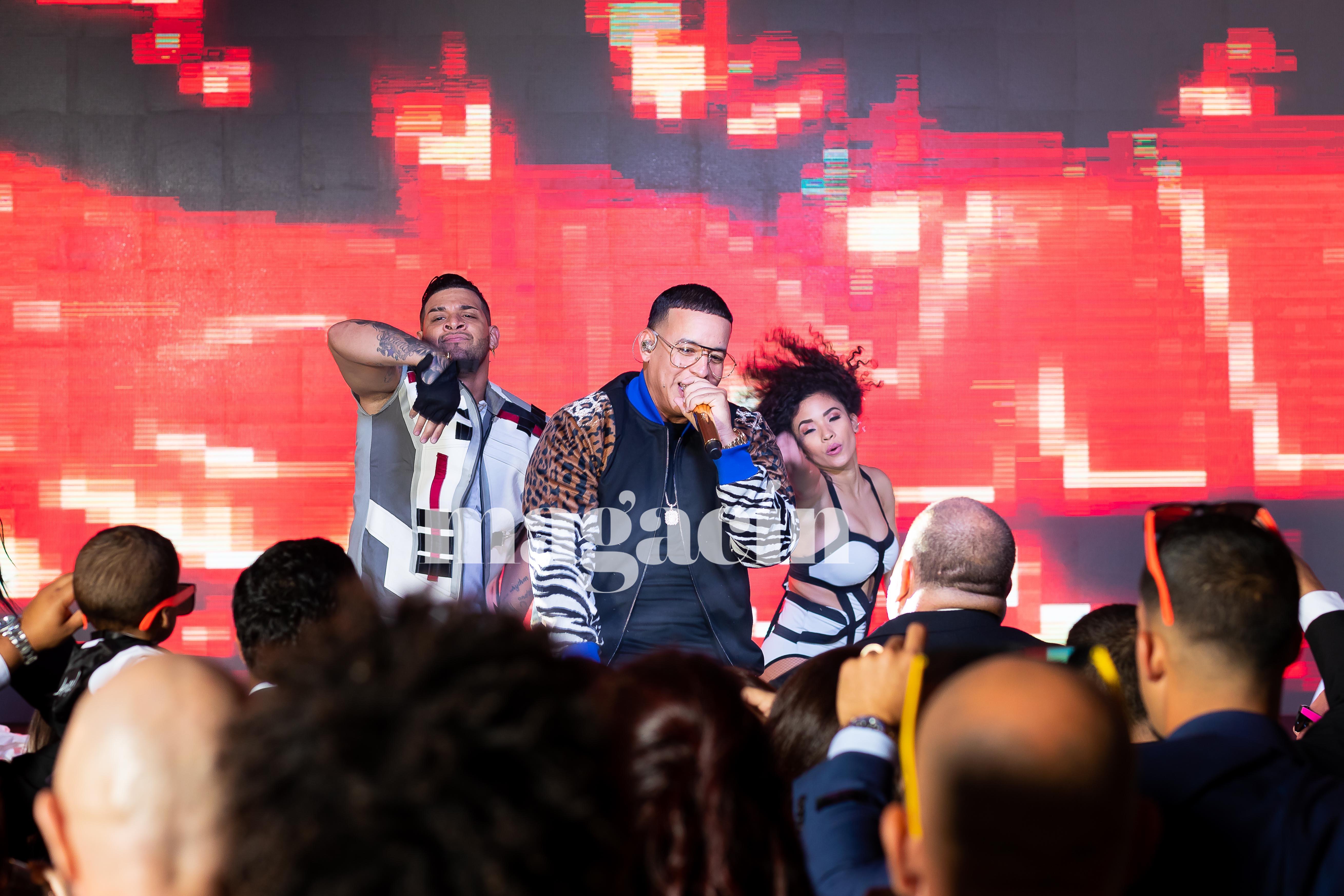 Uno de los momentos culminantes de la celebración fue una presentación del reguetonero Daddy Yankee. (Suministrada/ Claudette Montero)