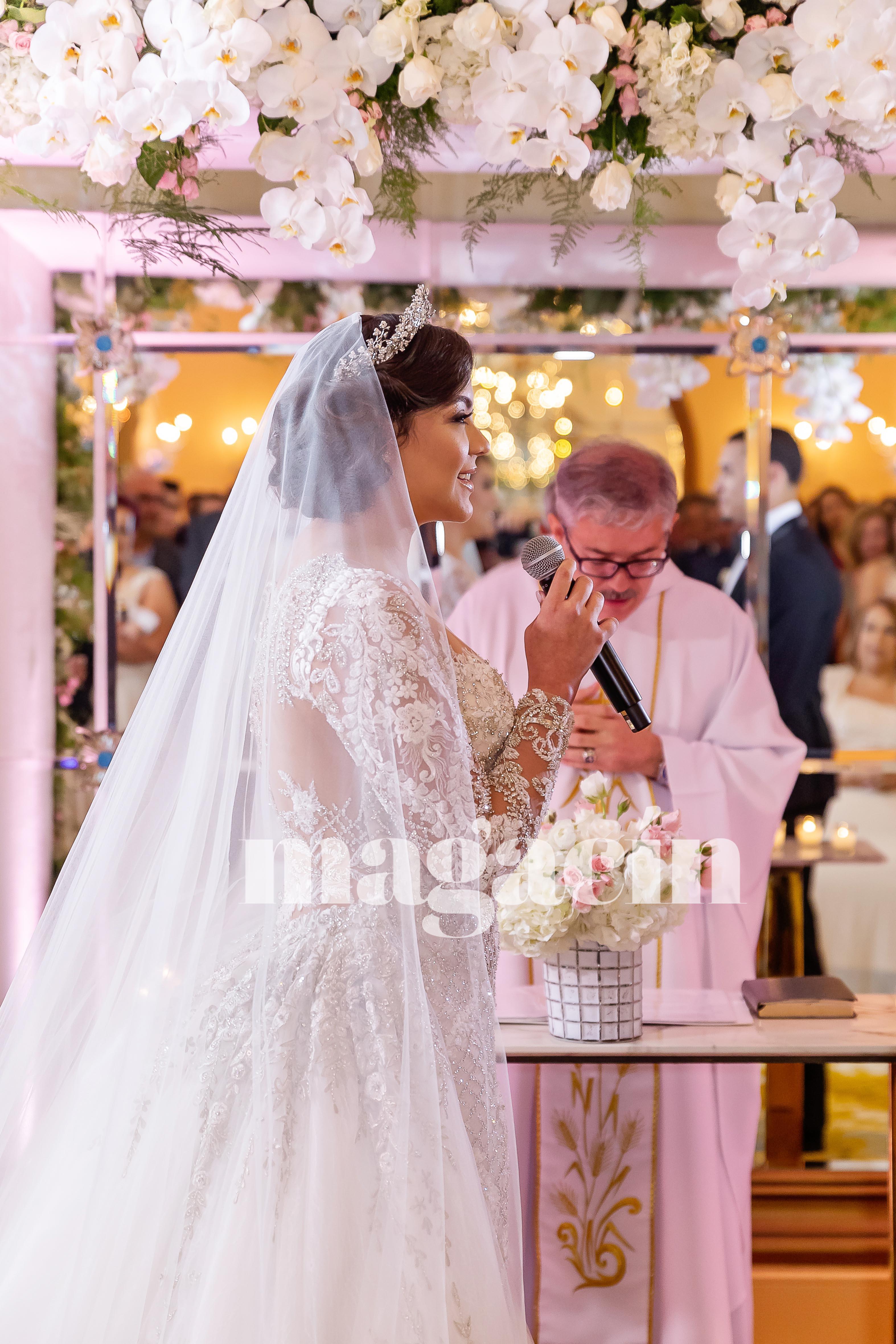 La pareja llevaba cerca de un año planificando el especial evento. (Suministrada/ Claudette Montero)
