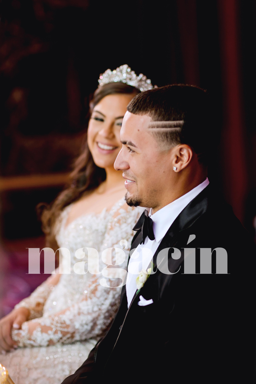 La pareja buscaba una ceremonia íntima con las personas que han sido vitales en su vida. (Suministrada/ Claudette Montero)