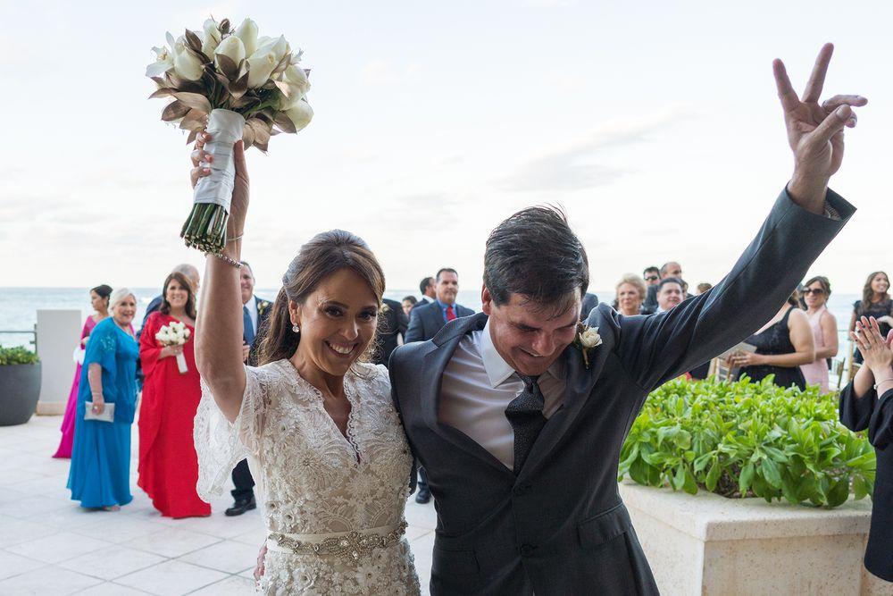 Ceremonia, West Veranda, Condado Vanderbilt Hotel. (Foto: Wilo Rosado)
