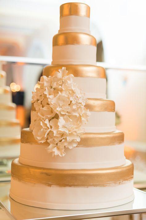 Bizcocho por Karen Padilla, Luxury Wedding Cakes. (Foto: Wilo Rosado)