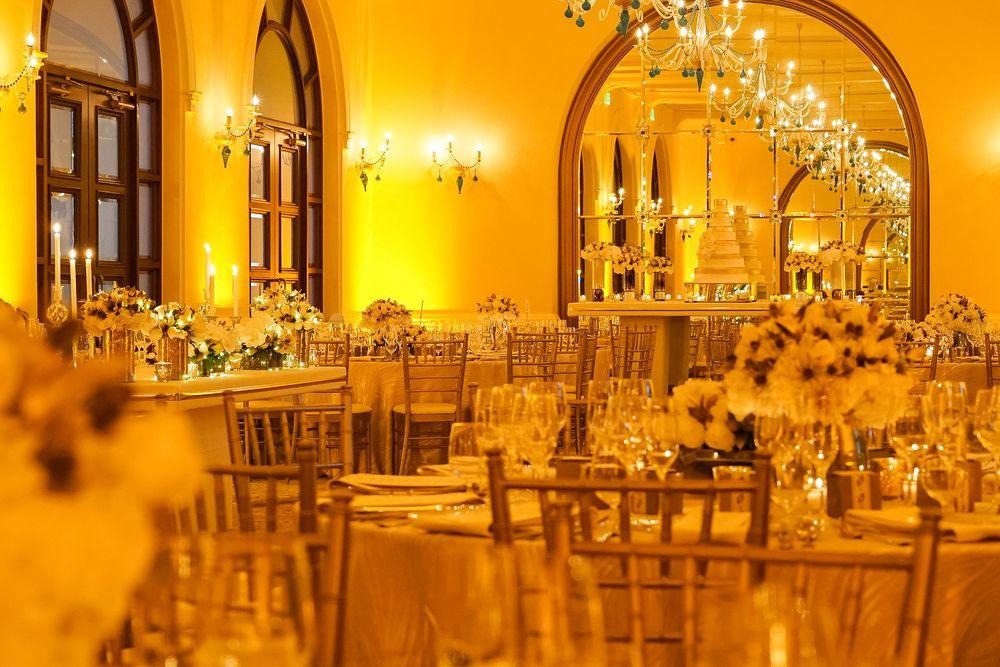 Recepción, Salón Dorado, Condado Vanderbilt Hotel. (Foto: Wilo Rosado)
