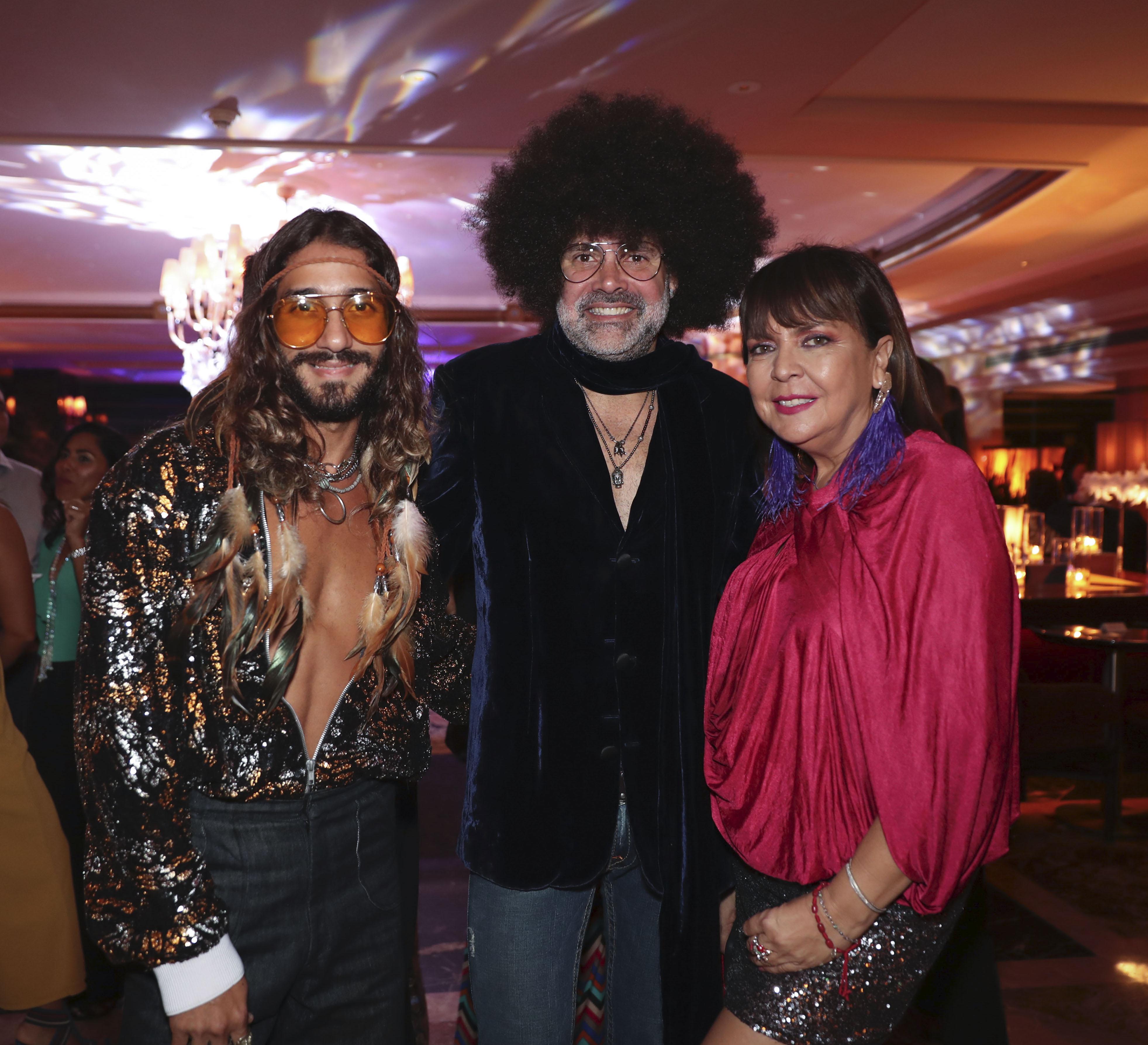 Jac Mauro, David Antonio y Agnes Marrero. (Suministrada)