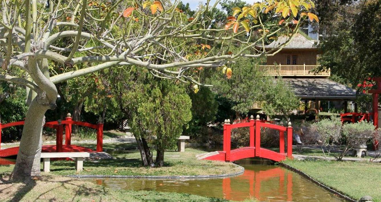 Jardín Japonés, en el Complejo Turístico del Castillo Serrallés en Ponce. Contacto: (787) 259-1775 (Suministrada)