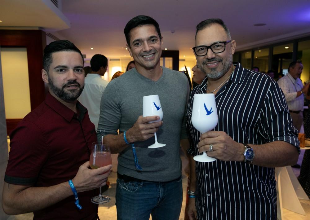 Javier Charlesman, Luis Acevedo y Martín Sánchez. (Suministrada)