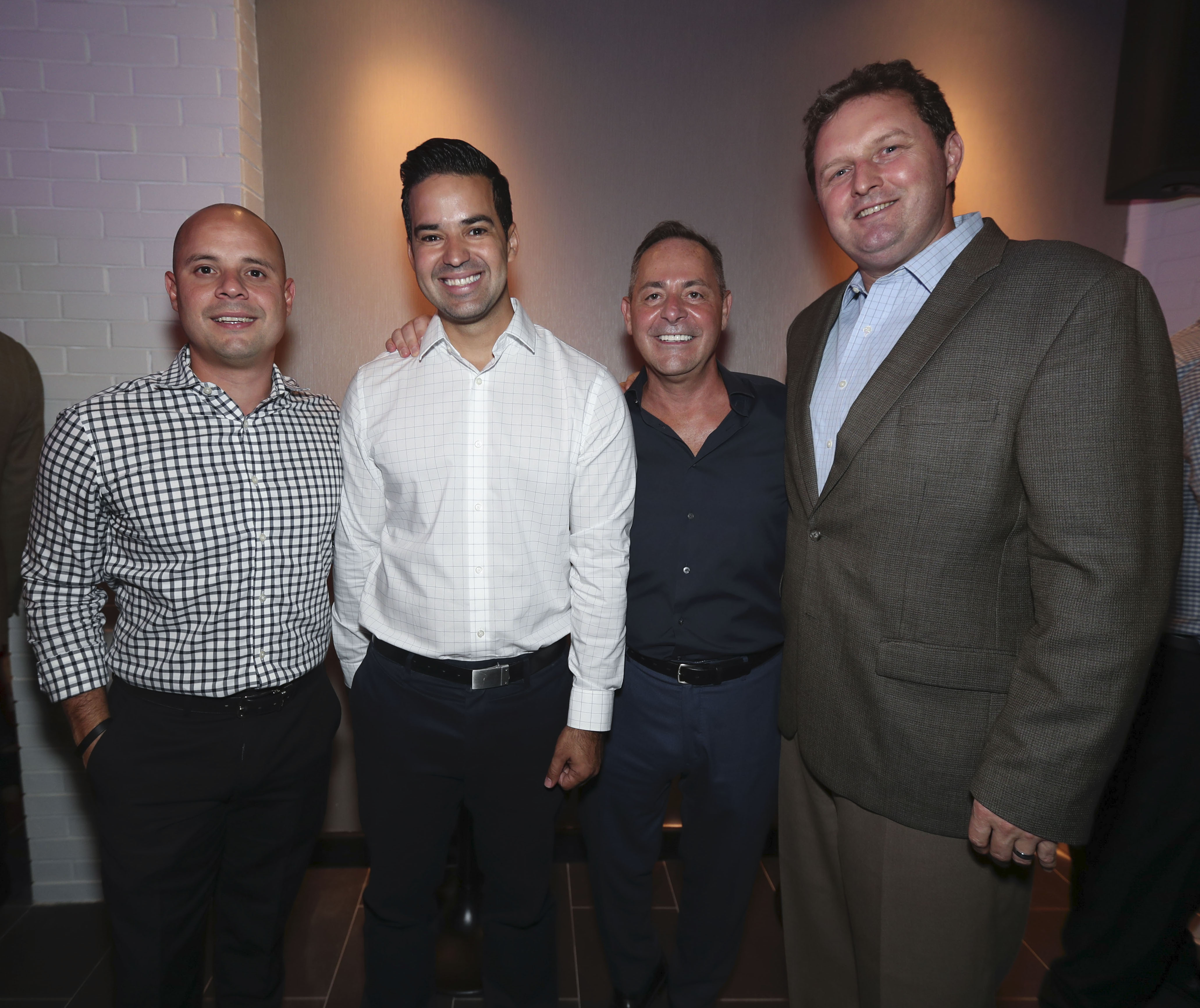 Jay Ortiz, Raúl García, Albert Charbonneau y Ben Tutt. (Suministrada)