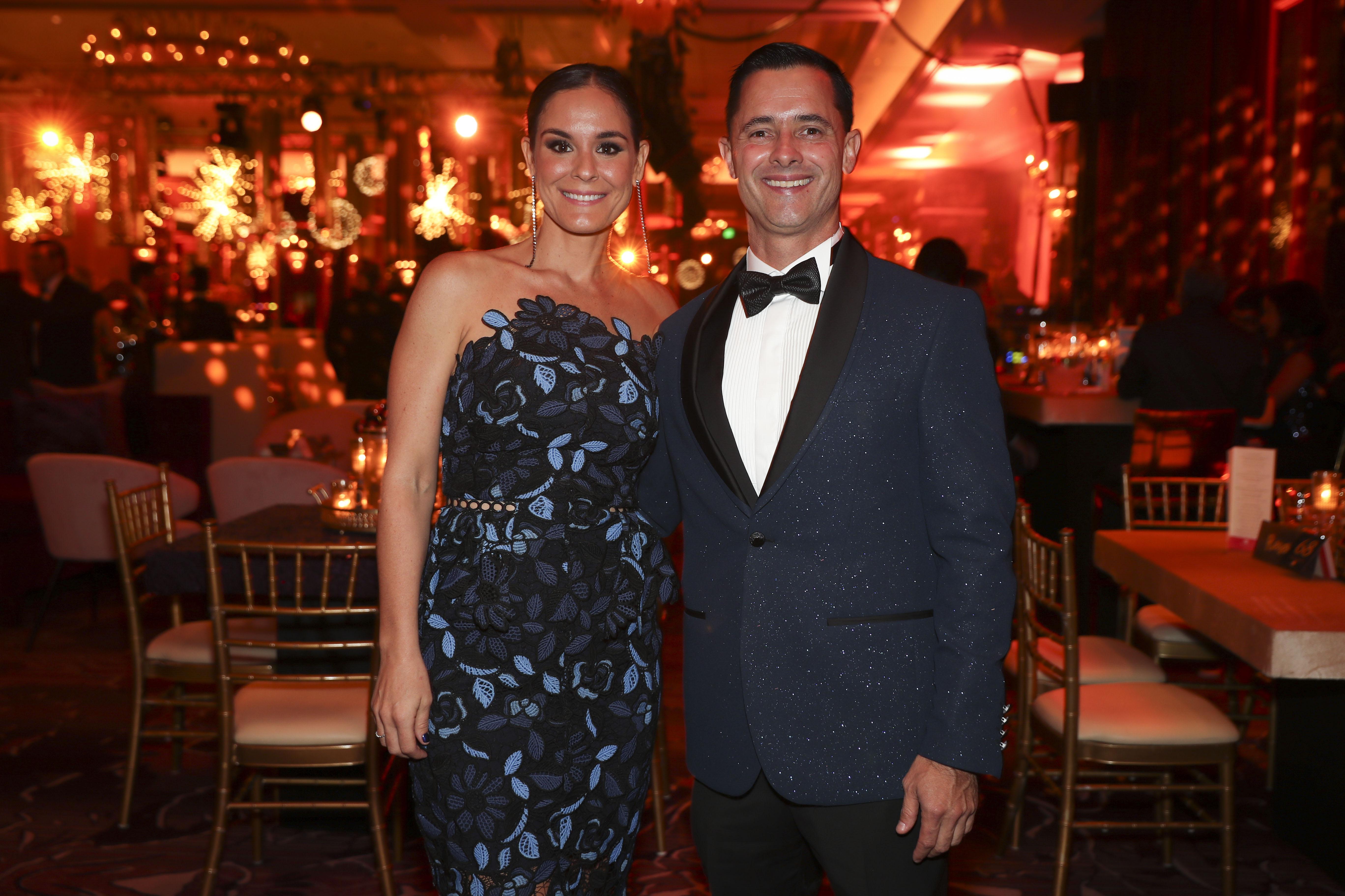 Jeannette Lugo y Nelson Ramírez. (Suministrada)
