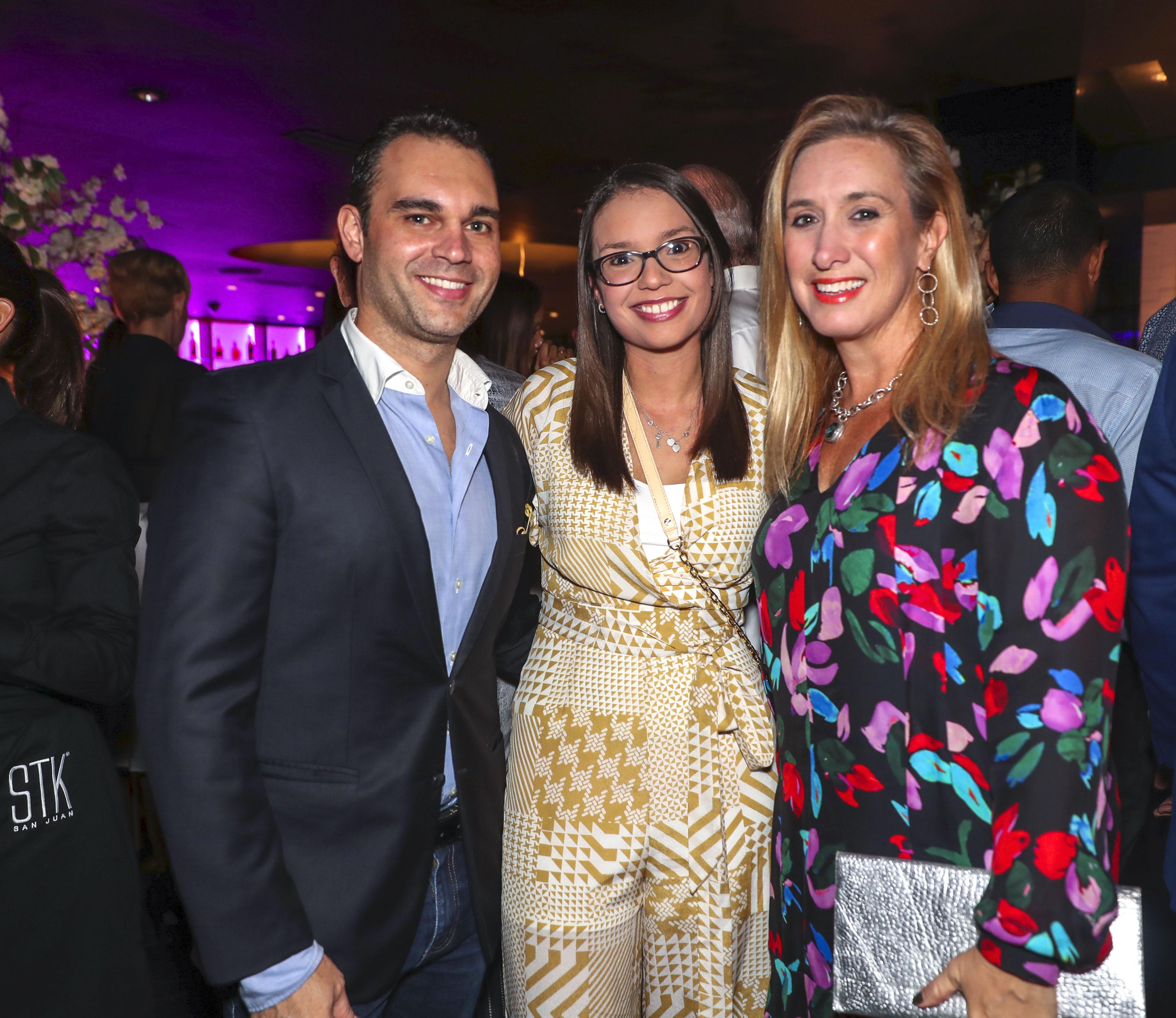 Jennifer Garity, Marian Rodríguez y Juan G. Rullán. (Suministrada)