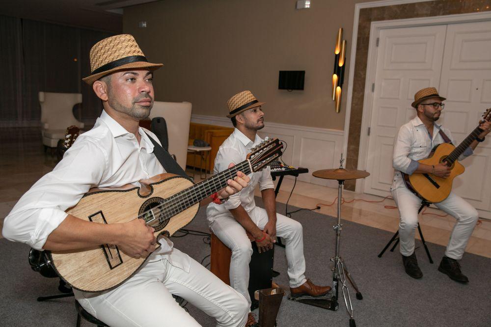 Jíbaro Pop Trio dio el toque borincano. Foto suministrada