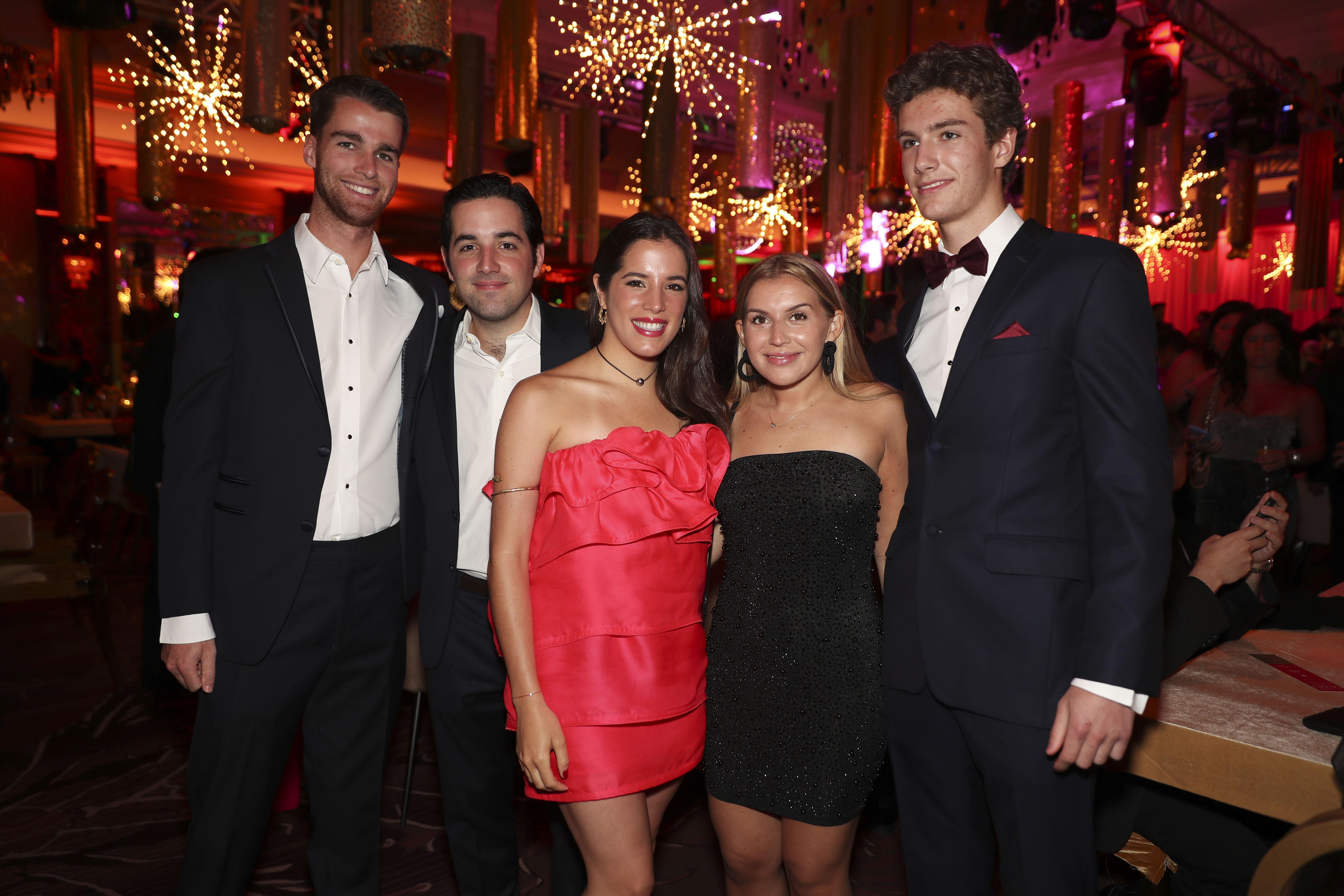 John McCurty, Luis Ferré, Isabel Ferré, Sammy Ferrer y Joseph McCurty. (Suministrada)