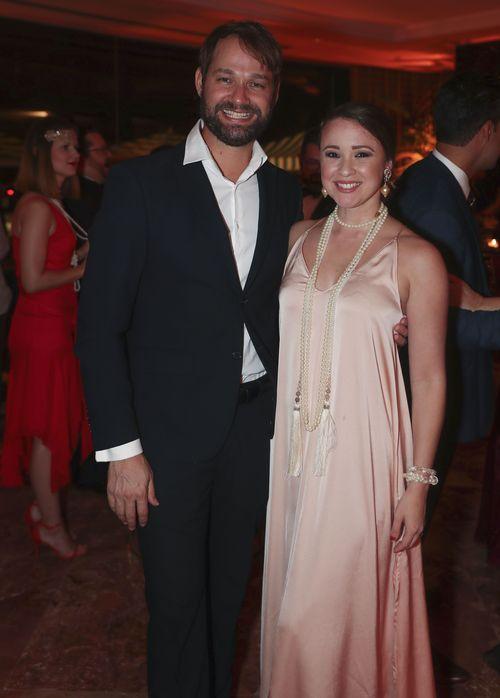 Jorge Colón y Leyra Gonzalez. Foto suministrada