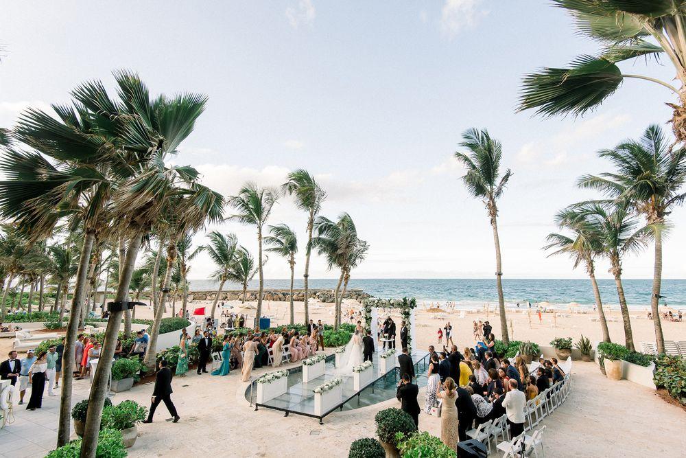 Ceremonia y recepción: La Concha, A Rennaissance Hotel.