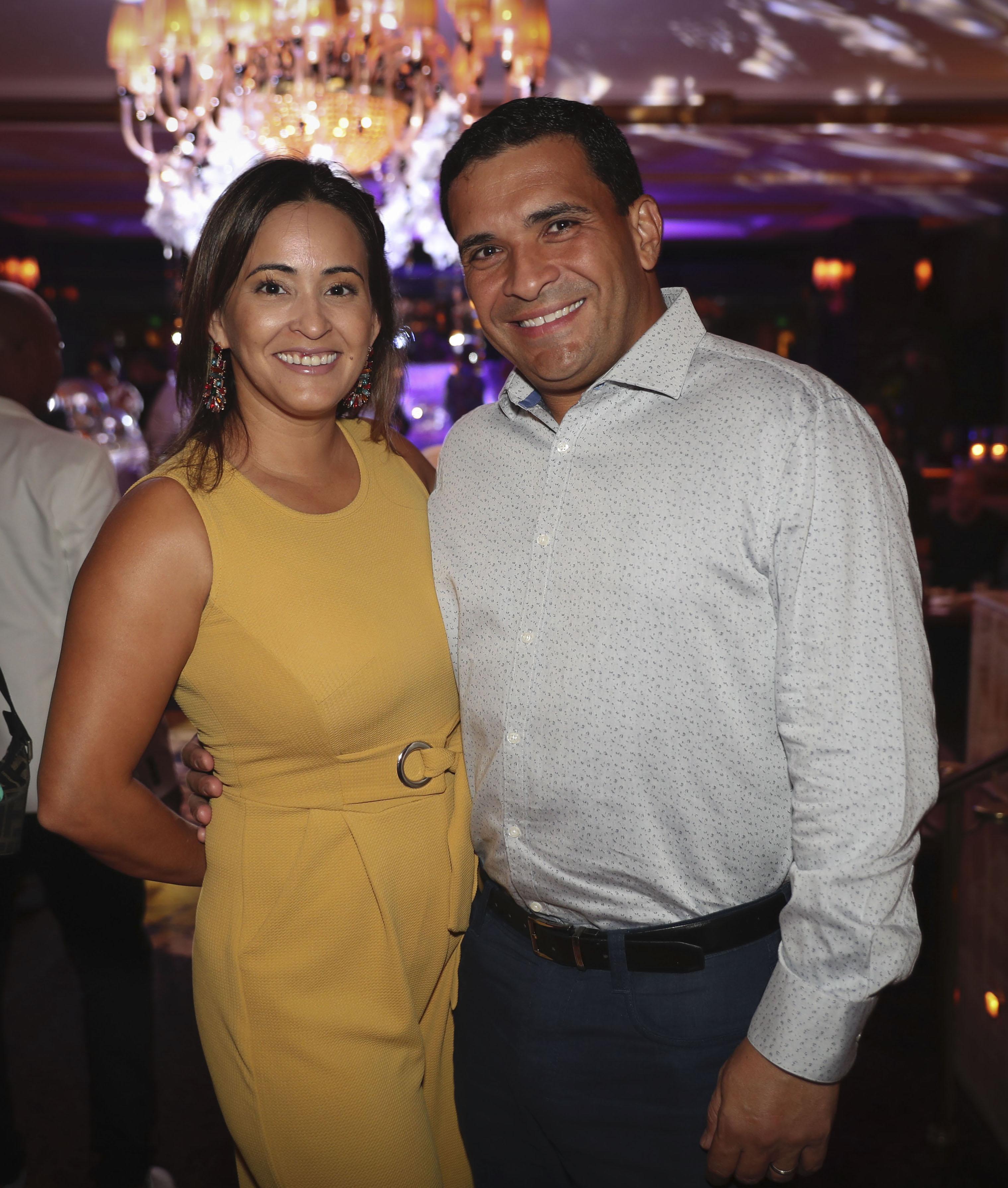José Torres y Aleyda Castillo. (Suministrada)