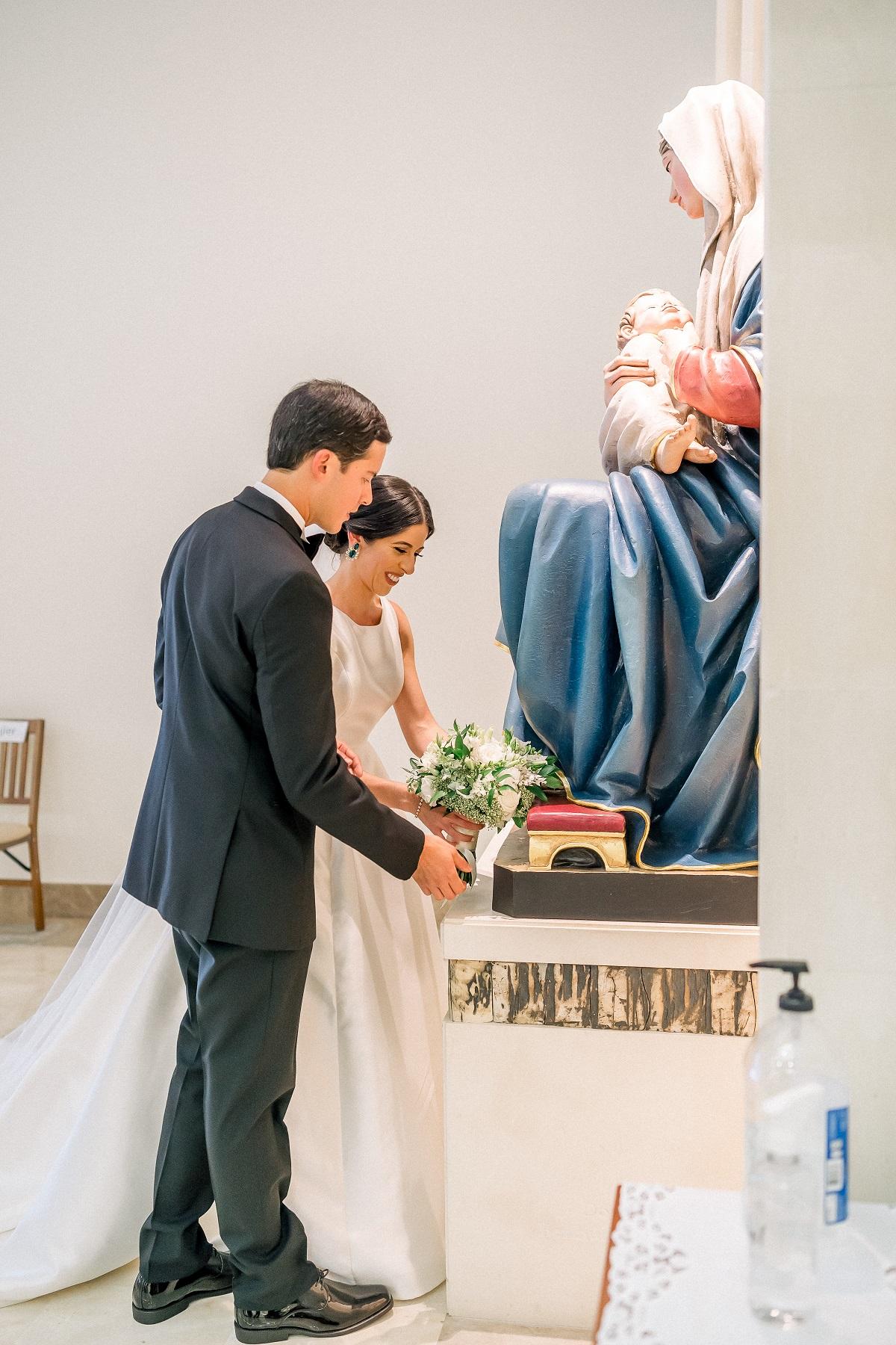 Ceremonia y recepción: Iglesia Stella Maris y Vanderbilt Hotel (José Ruiz)