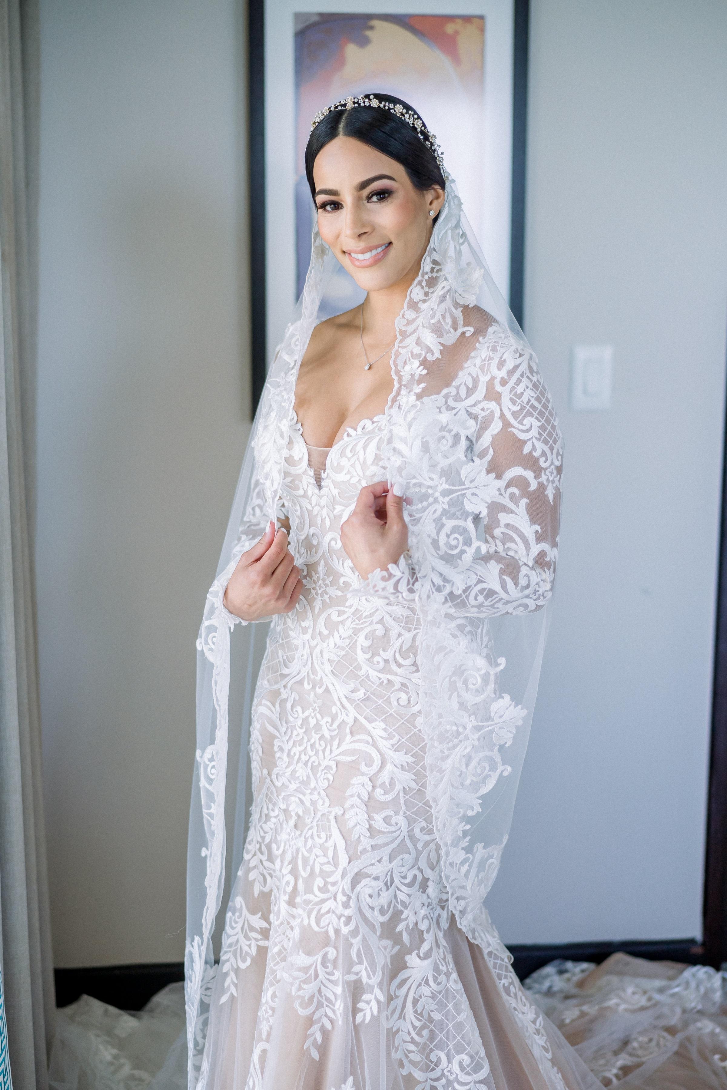 Vestido de la novia: D'Royal Bride (Foto: José Ruiz Photography)