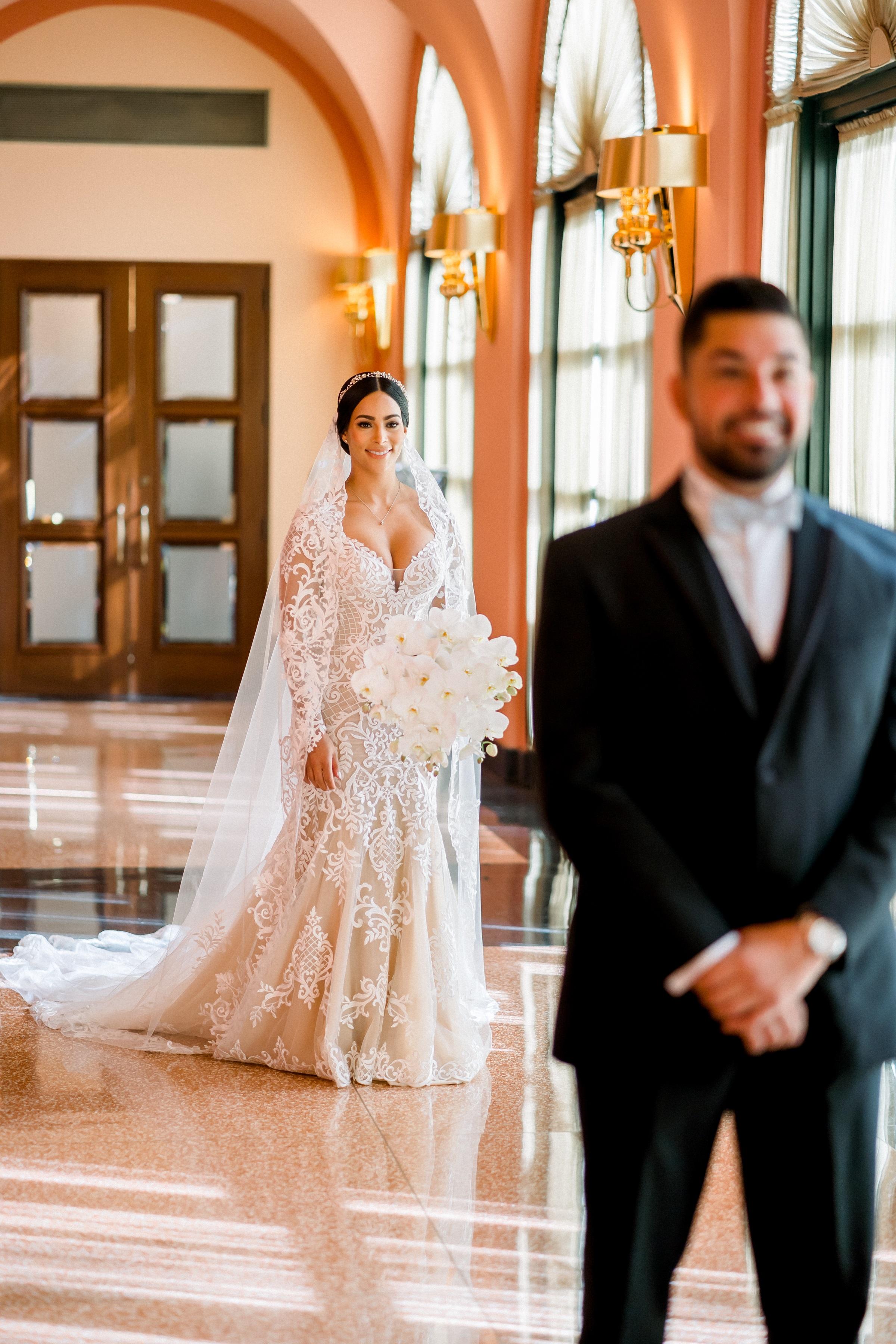 Ceremonia y recepción: Condado Vanderbilt Hotel (Foto: José Ruiz Photography)