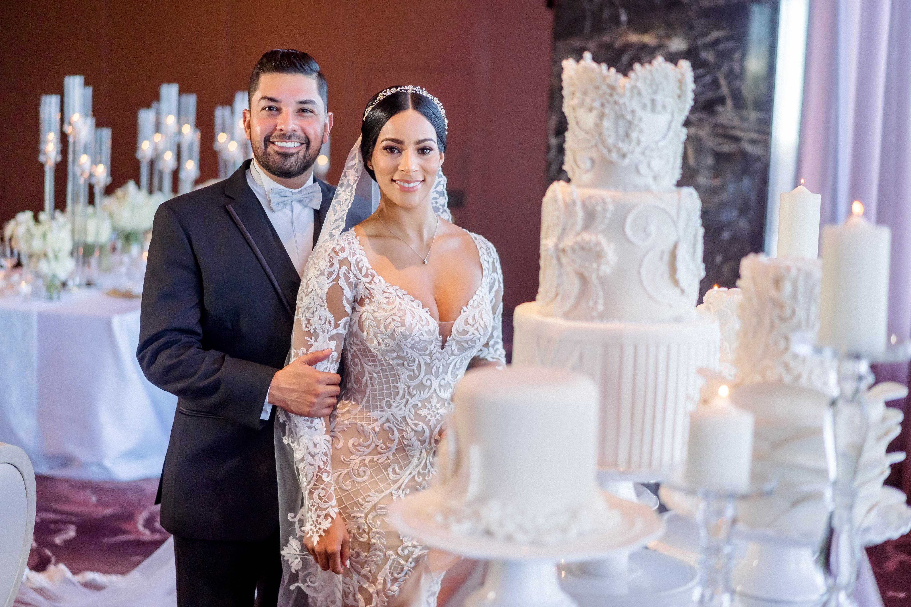 Bizcocho: C + M Cake Designer (Foto: José Ruiz Photography)