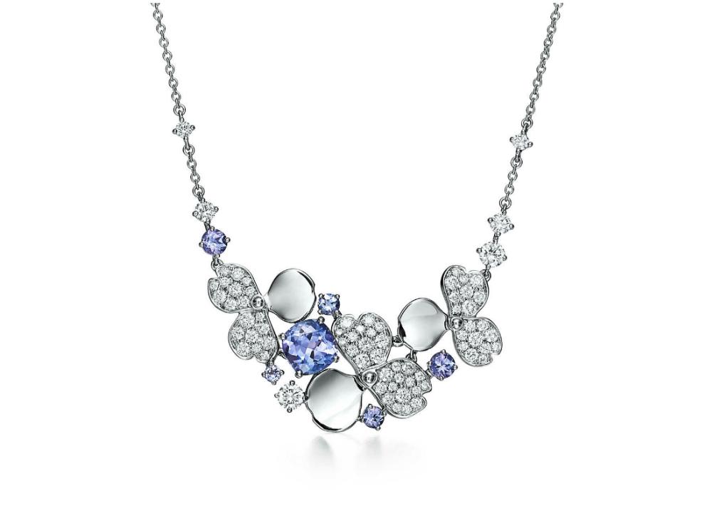 """Collar de la colección más importante de Tiffany & Co. este año, """"Paper Flowers"""". (Foto: Suministrada)"""