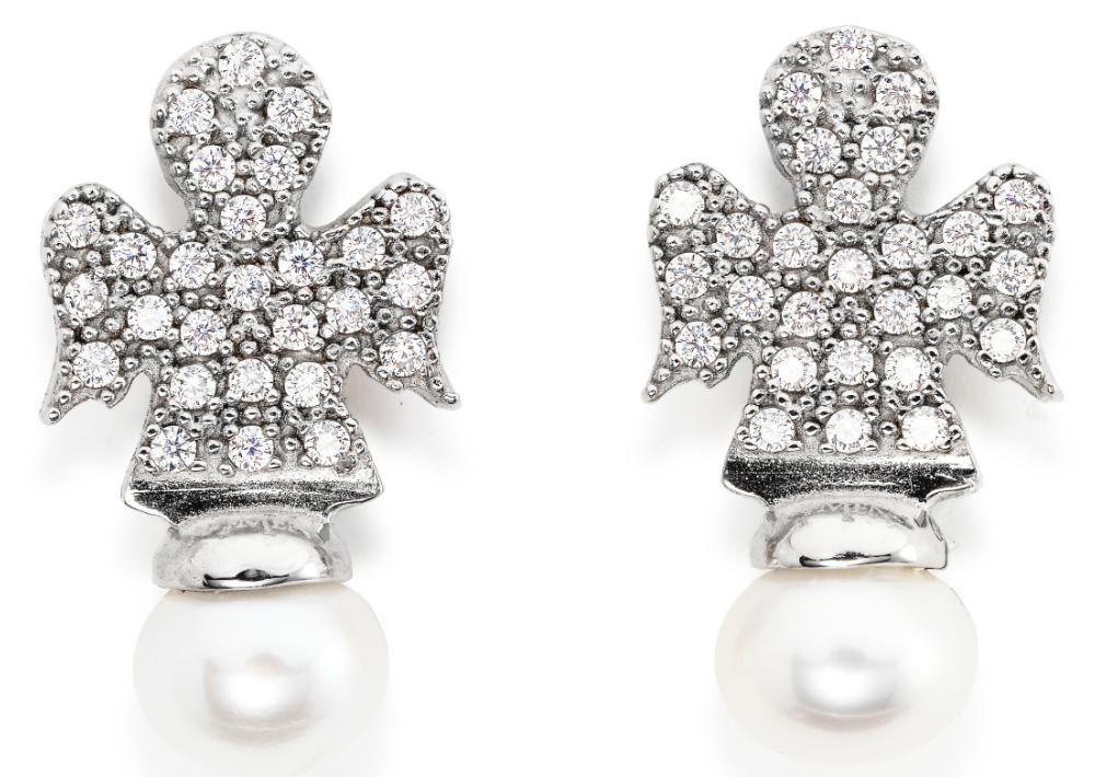 Pantallas en forma de ángel y perlas de Amen. (Foto: Suministrada)