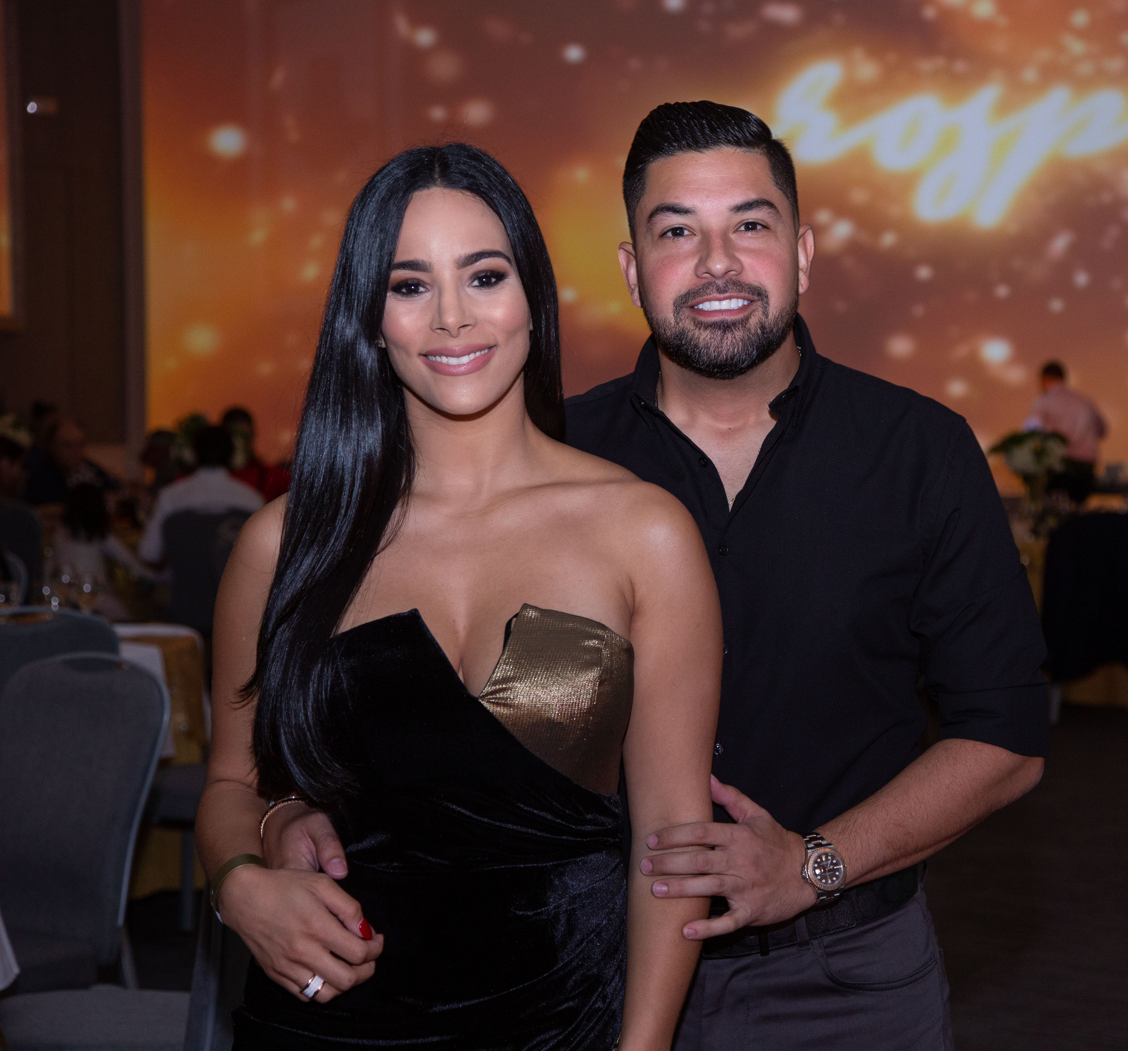 Juan Pablo Díaz y Melanie Maffuz. (Suministrada)