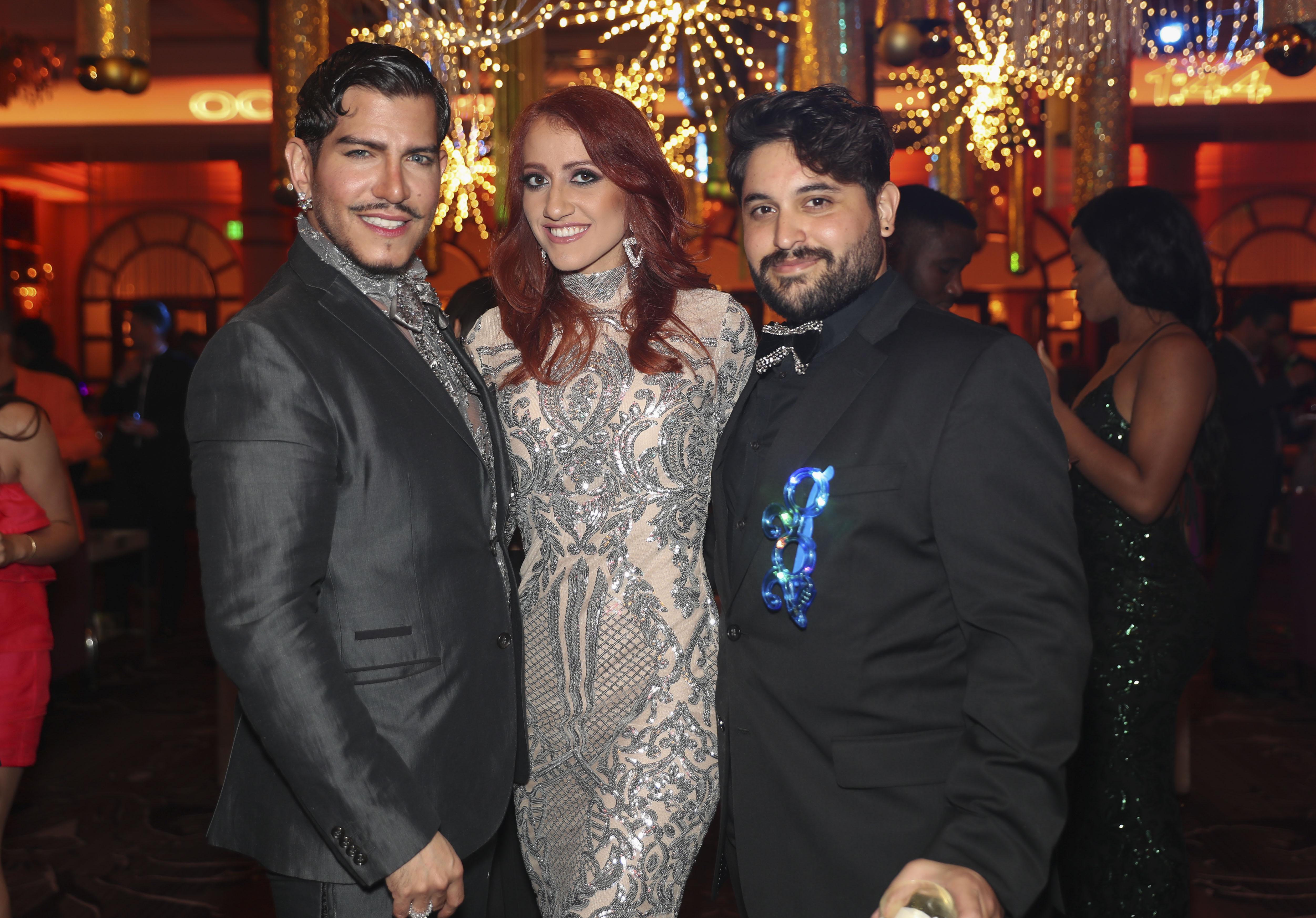 Juan Rodríguez Escalera, Sonia Caraballo y Daniel Ocasio. (Suministrada)