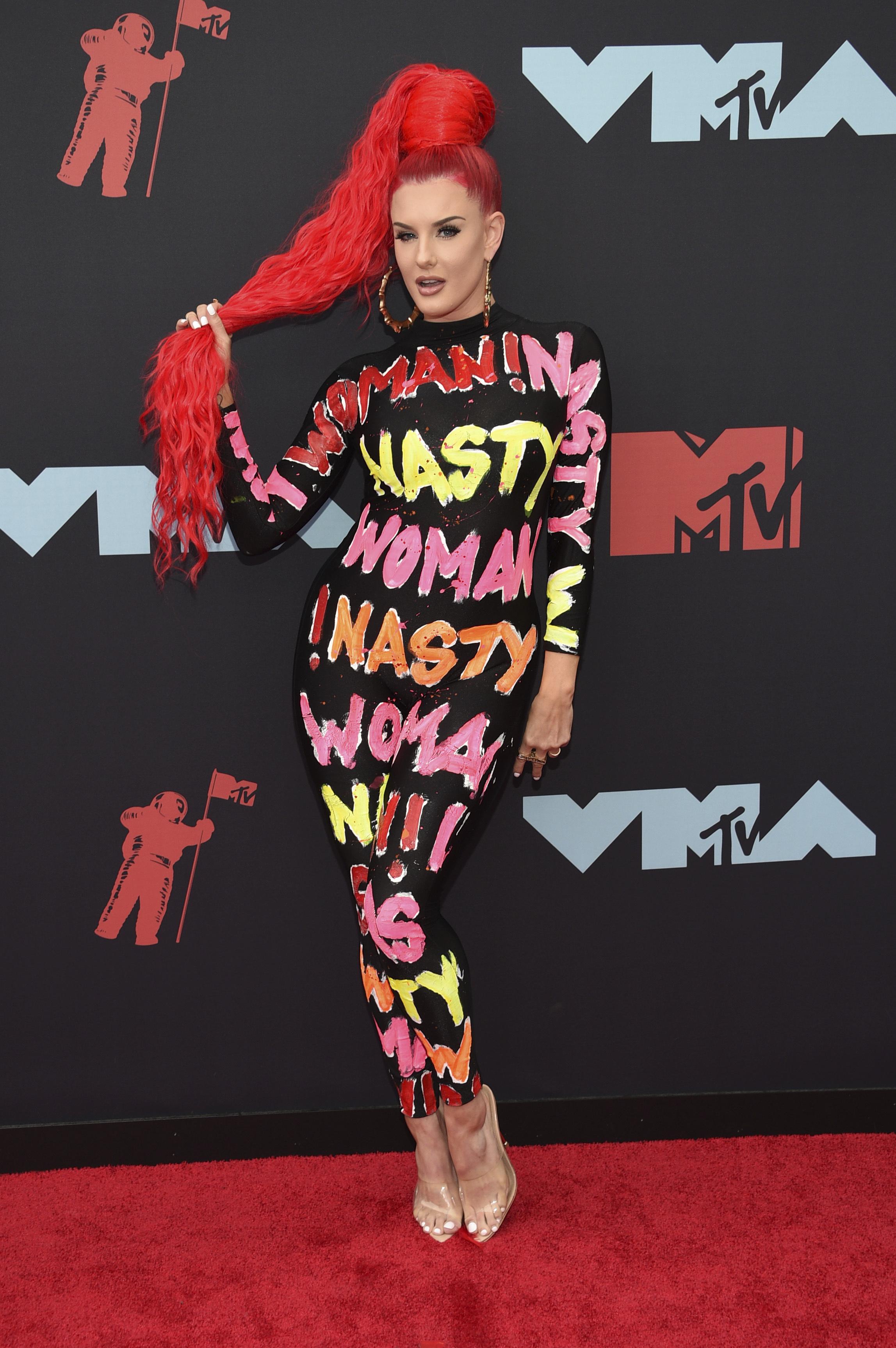 La rapera americana Justina Valentine (AP)