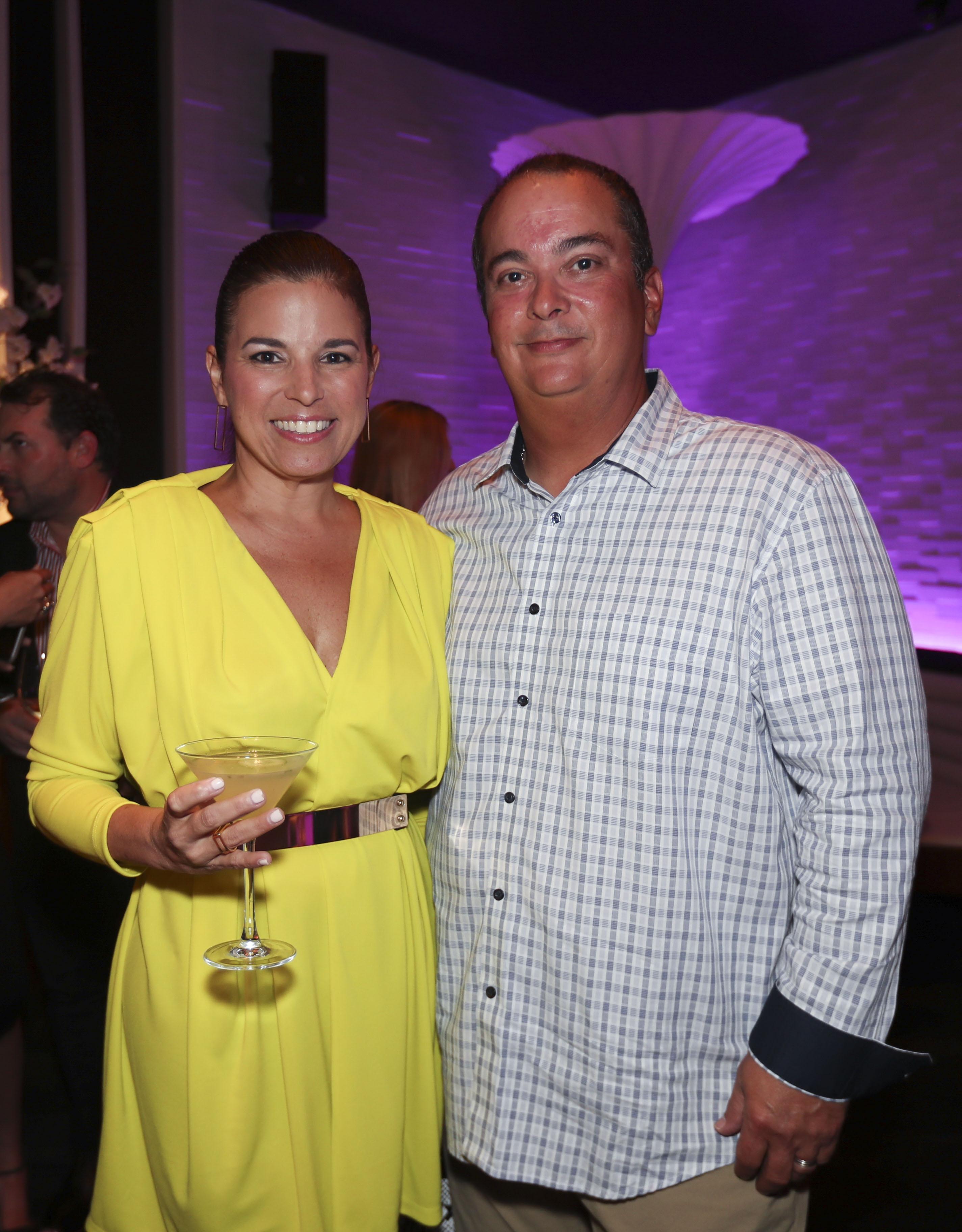 Karina Fernández  y José Martorell. (Suministrada)