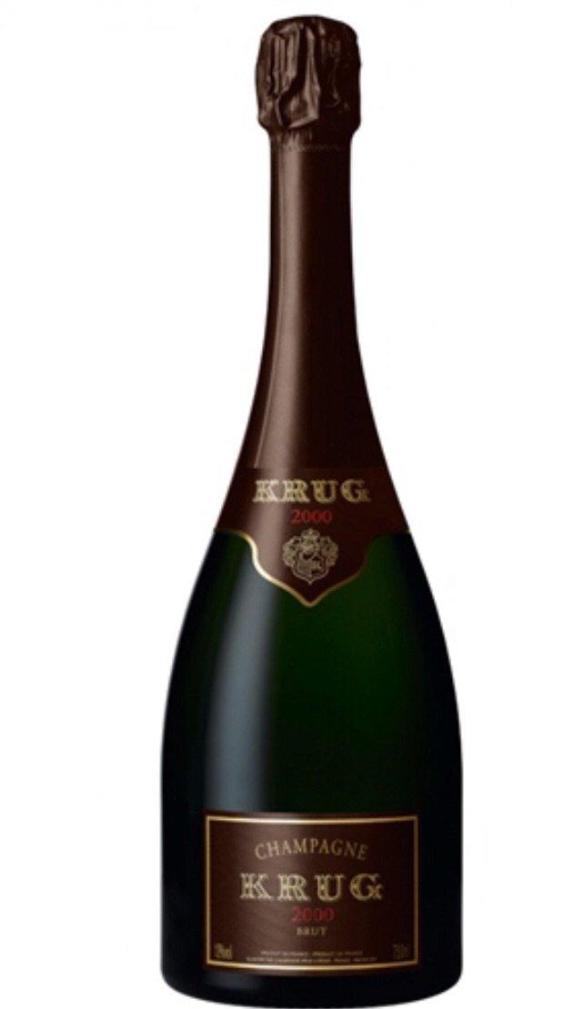 Champán Krug 2000 Brut edición limitada, del Hórreo de V. Suárez. (Suministrada)