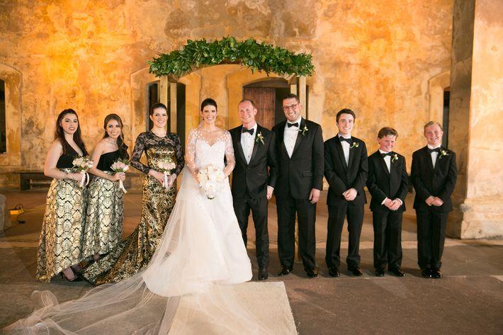 Vestido de la novia- Harry Robles
